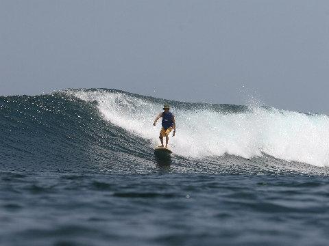 波と対話するように乗れることが私の究極。