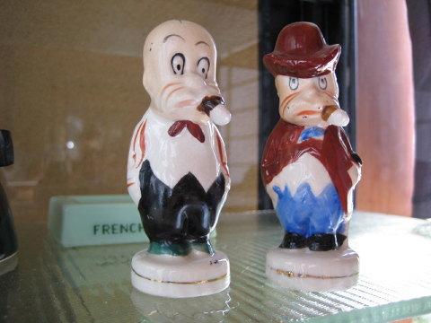 やはり左のおじさんがソルトで、右のおじさんがペッパーなのだろう。