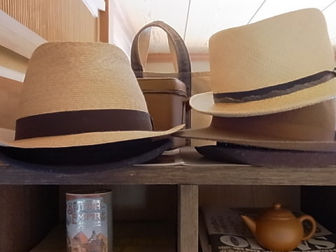 私も、パナマ帽を用意して、ダンスに備えようと思います。