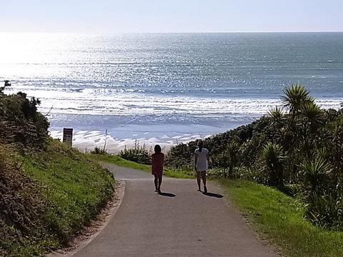 あけましておめでとうございます。本年もよろしくお願いいたします。 今年も日常生活の中に自然を取り込んで暮らしたい。 Raglan. NZ 2010