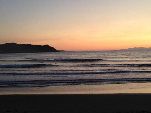 綺麗な夕焼けを眺めながら、今が人生最良の時なのではと思った。そんな気分のイイ日もある。