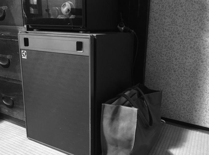 きよみちゃん、ゆみちゃん、まゆみちゃん、はるみちゃん、いしちゃん、冷蔵庫は役割を全うし成仏しましたよ!