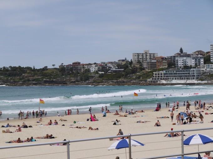 シドニーを代表するボンダイ・ビーチ