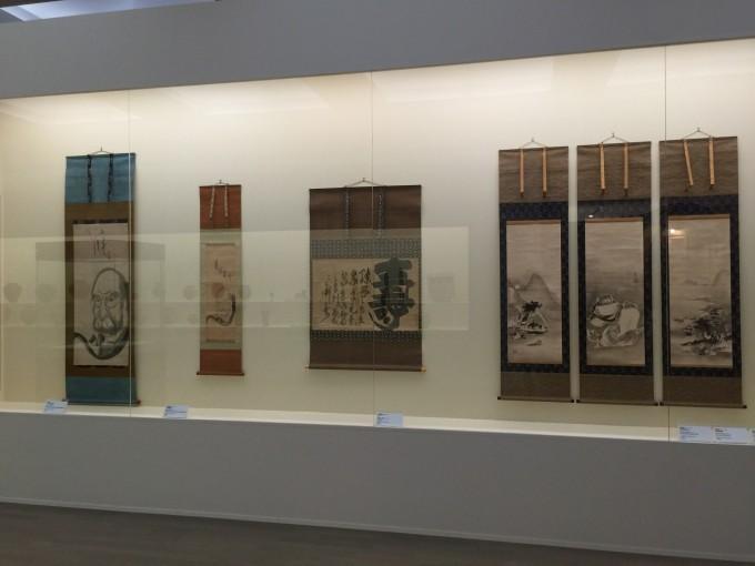 有名な白隠禅師の書も村上氏の元にありました。