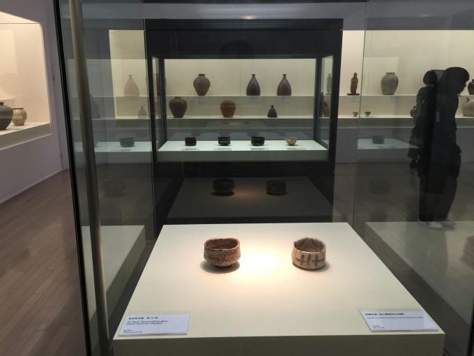桃山の茶陶や大壷群が圧巻の陶芸コーナー