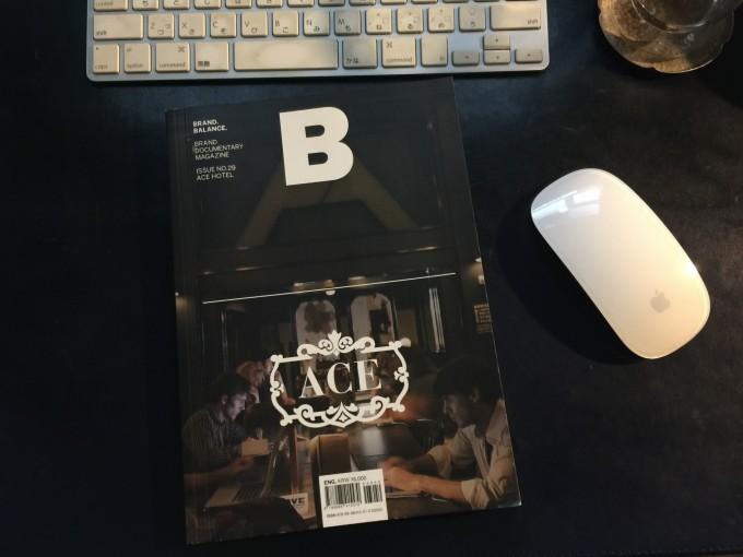 ACE HOTELが特集の「B」マガジン