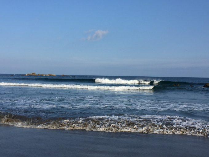 貸し切りゆったりサーフィン出来ました。