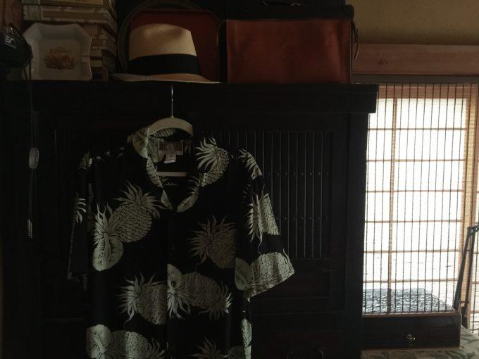 潮風王国で5日に開催が迫る「千倉サンバフェスタ」に向けてパナマ帽やアロハを準備したり・・